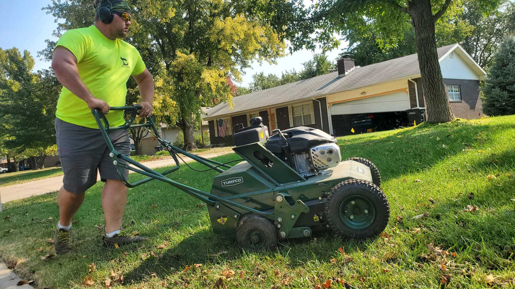 aerating your lawn regularly
